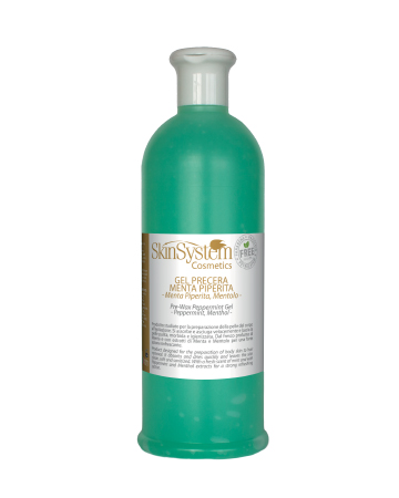 gel pre depilacije pepermint-mentol