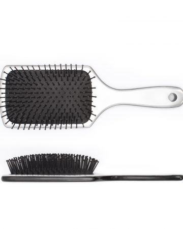 četka za kosu ravna-srebrna