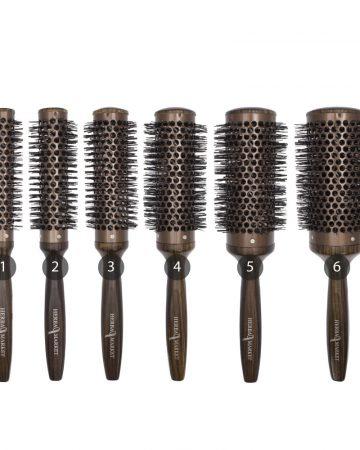 keramičke četke za kosu braon