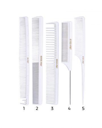 plastični češljevi za kosu pbt