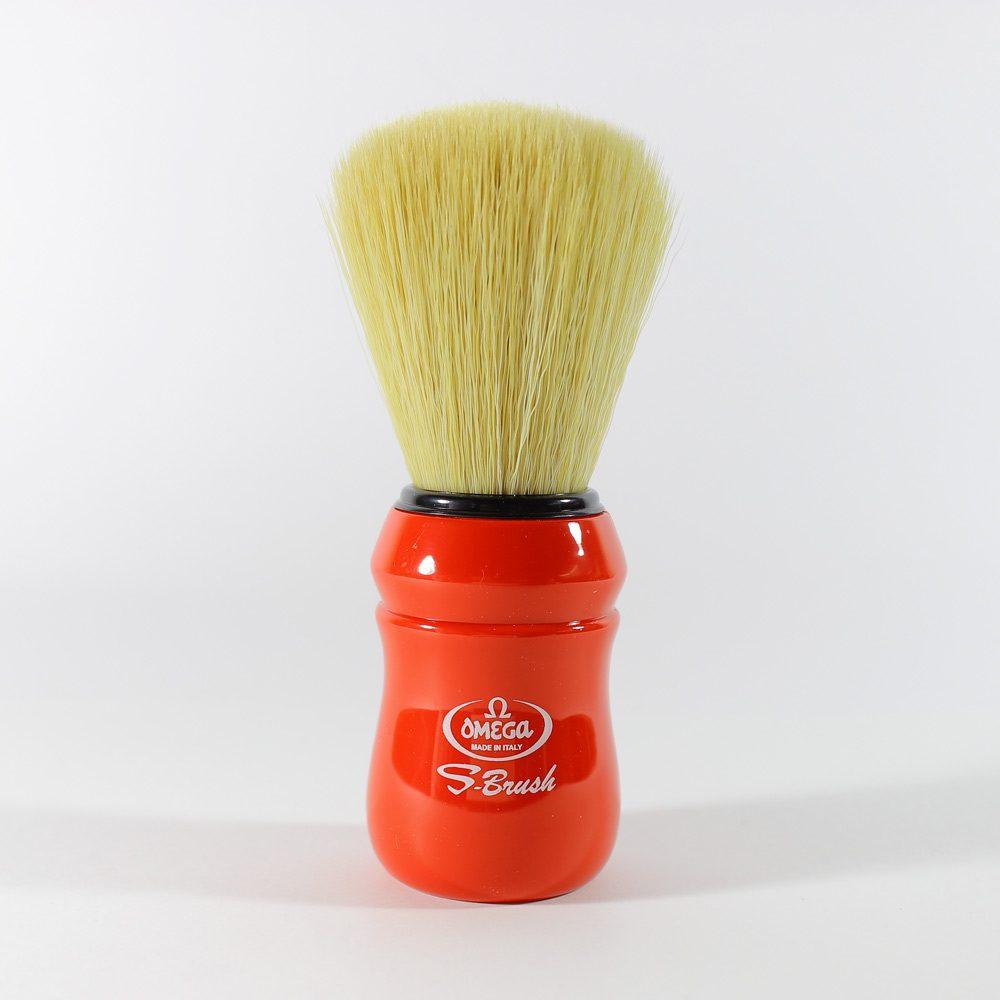 frizerski-pribor-cetka-za-brijanje-sintetika-mod1-crvena
