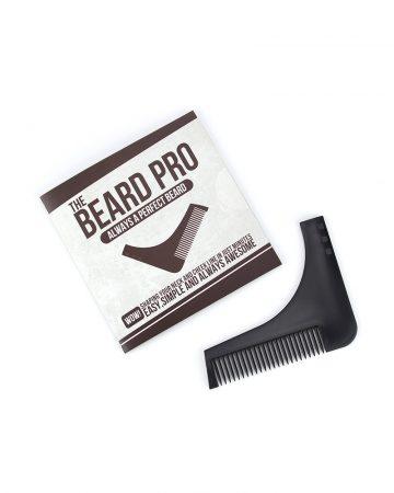 šablon za mušku bradu
