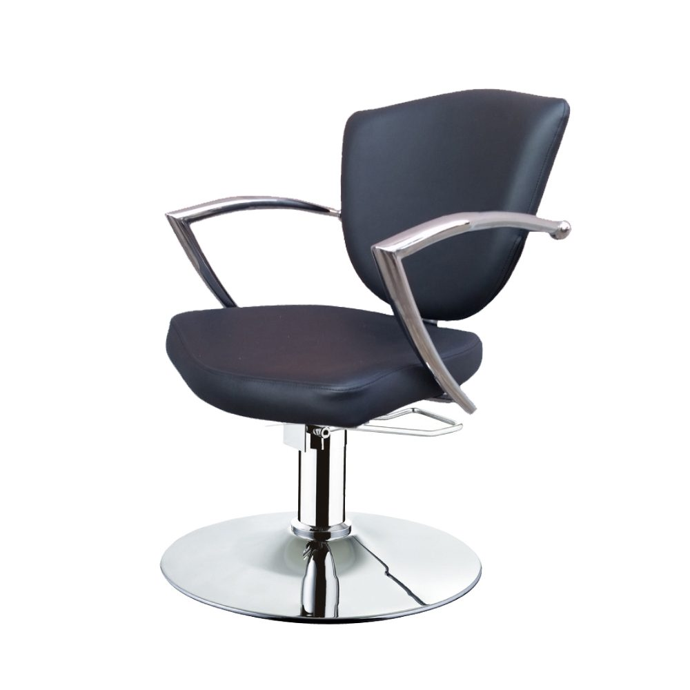 frizerska oprema-frizerska-stolica-viktorija-okrugla-baza