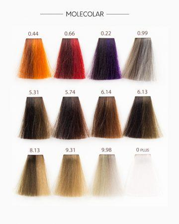molecolar boja za kosu