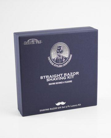 set za brijanje - britva sa priborom za oštrenje