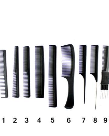 plastični češljevi za kosu Top